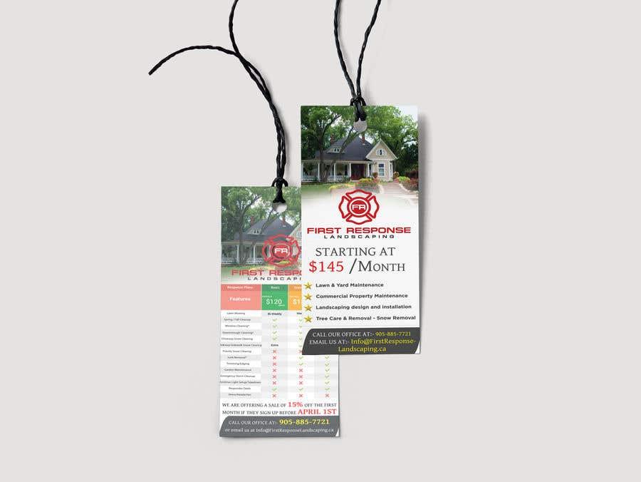 Inscrição nº 21 do Concurso para Door Hanger - Flyer Design
