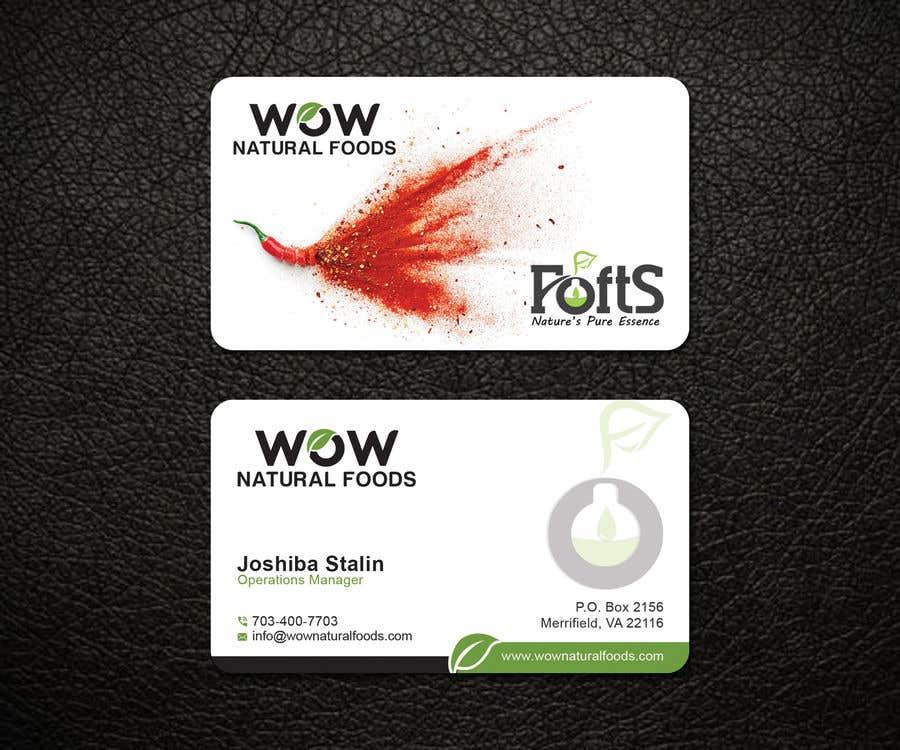Proposition n°62 du concours create business card