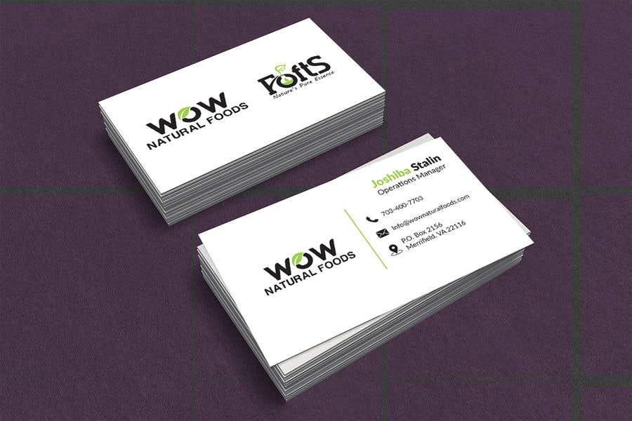 Proposition n°191 du concours create business card
