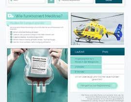 nº 11 pour Design 3 subpages of a Wordpress homepage - (only design - no development) par appsanju8