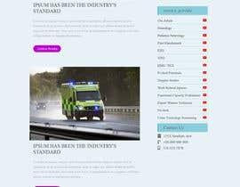 nº 10 pour Design 3 subpages of a Wordpress homepage - (only design - no development) par webDesgin884