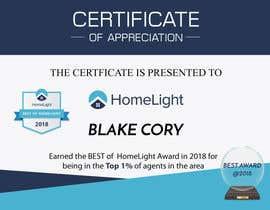#10 untuk Award Certificate - 10/03/2019 13:38 EDT oleh petersamajay