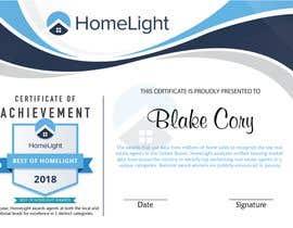 #6 untuk Award Certificate - 10/03/2019 13:38 EDT oleh NeelSagarbd