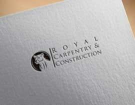nº 2 pour I need a logo designed for: Royal Carpentry & Construction par apurbabd3996