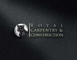 nº 5 pour I need a logo designed for: Royal Carpentry & Construction par apurbabd3996