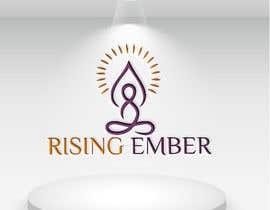 Nro 30 kilpailuun Logo designed for Yoga Studio - Rising Ember käyttäjältä meherab01855