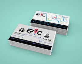 #66 for design double sided cards - EPIC by AzizulHoque1
