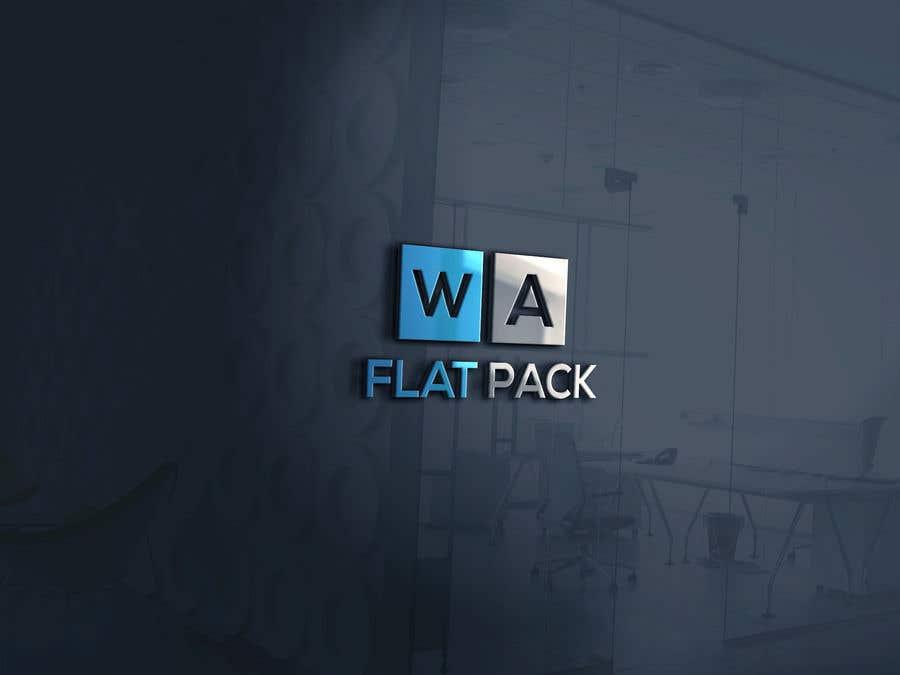 Penyertaan Peraduan #1131 untuk Logo WA FLAT PACK
