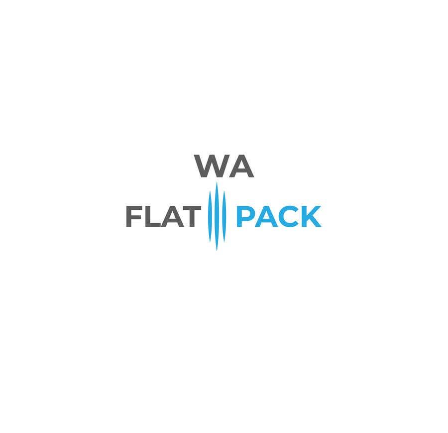 Penyertaan Peraduan #15 untuk Logo WA FLAT PACK
