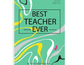 #13 for Teacher Planner Book Cover by ashar1008