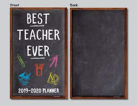 #12 for Teacher Planner Book Cover by pephlaxx