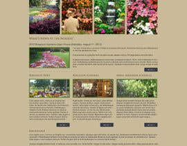 #3 para Design Inspiration for Bergeson Nursery Website por antonyngo