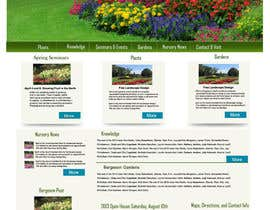 #13 for Design Inspiration for Bergeson Nursery Website af techkirti