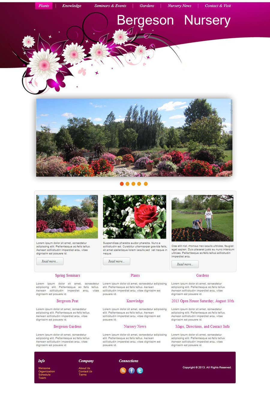 #2 for Design Inspiration for Bergeson Nursery Website by xahe36vw