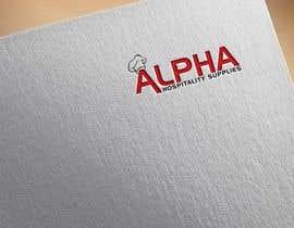 #127 for Alpha Hospitality Supplies LOGO af smsadik19911