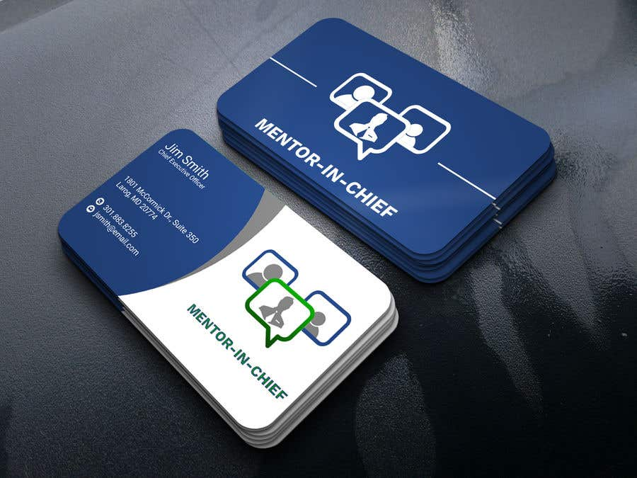 Contest Entry #49 for Biz Card / Word Template / PPT Template for Mentor-In-Chief