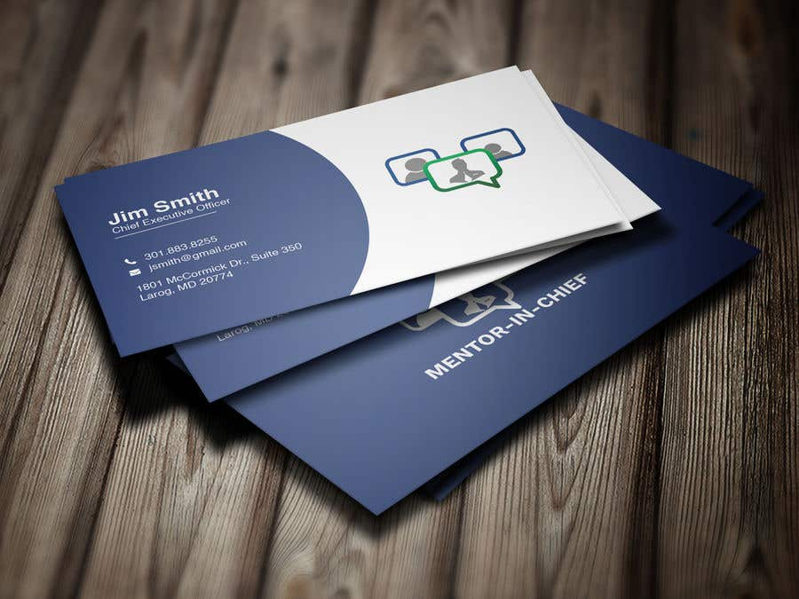 Contest Entry #64 for Biz Card / Word Template / PPT Template for Mentor-In-Chief