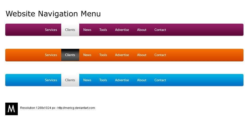 Konkurrenceindlæg #2 for Teach me change the Mega menu submenu font color and hover color