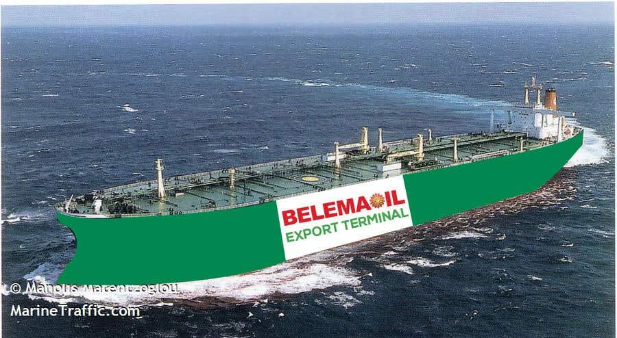 Penyertaan Peraduan #51 untuk Graphic design for a ship