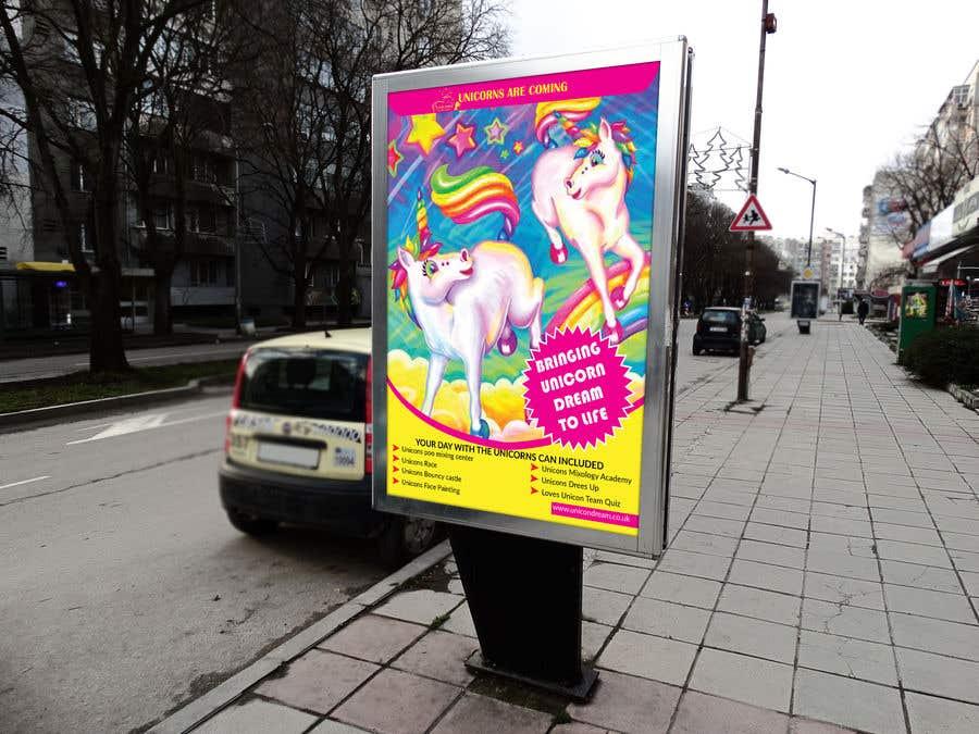 Proposition n°247 du concours Flyer Design Kinds Unicorn Event