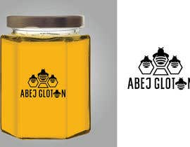 #45 for Glutonous bee honey logo by eling88