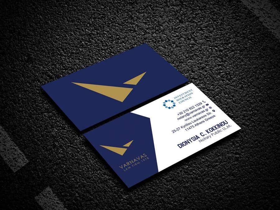 Penyertaan Peraduan #636 untuk Design new business cards for law firm