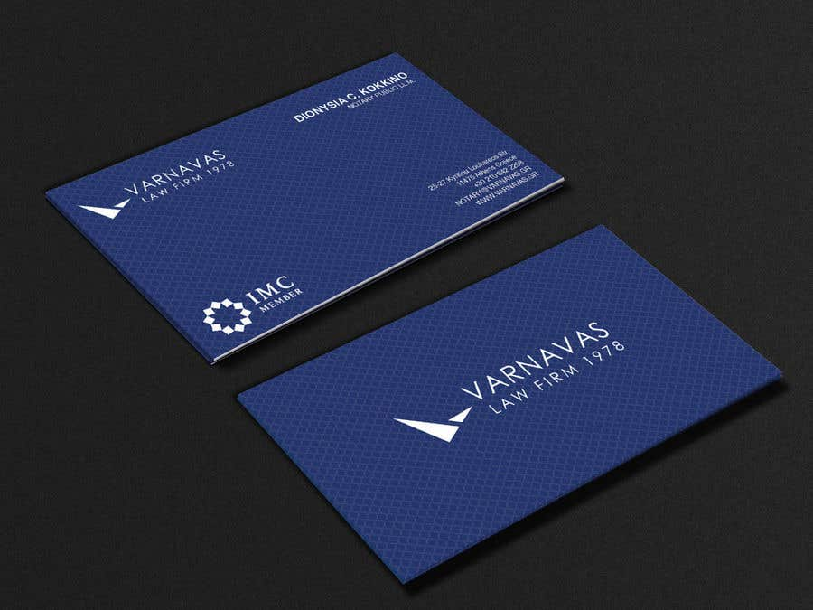 Penyertaan Peraduan #634 untuk Design new business cards for law firm