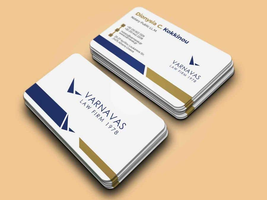 Penyertaan Peraduan #635 untuk Design new business cards for law firm