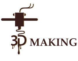 "SpartakMaximus tarafından I need a logo designed for my company called ""3D-Making"" için no 44"