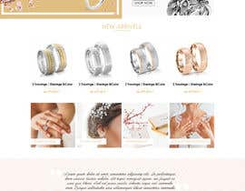 #16 for Design Landingpage for Wedding Onlineshop af trandesign0105