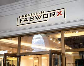 #2486 untuk Logo for fabrication brand (subsidiary of existing company) - PRECISION FABWORX oleh anayahdesigner