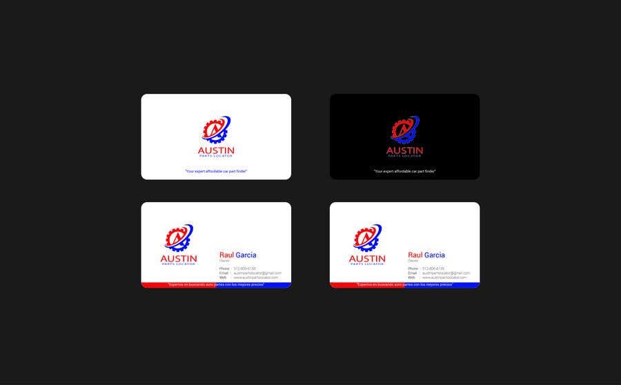 Konkurrenceindlæg #189 for Design Business Cards For Car Parts Company