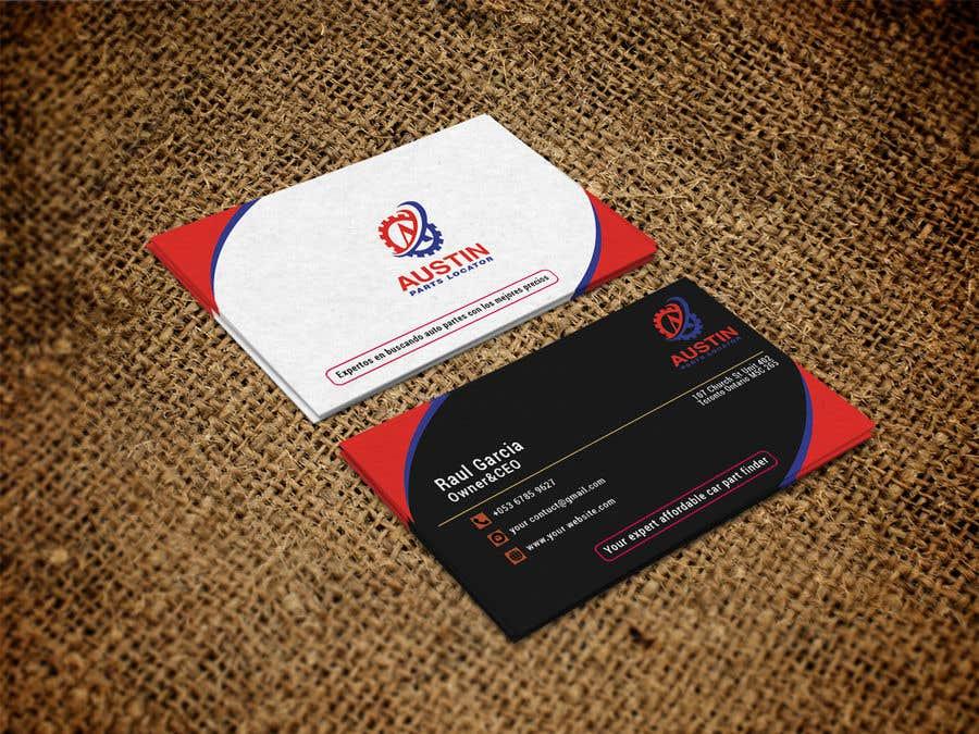 Proposition n°228 du concours Design Business Cards For Car Parts Company