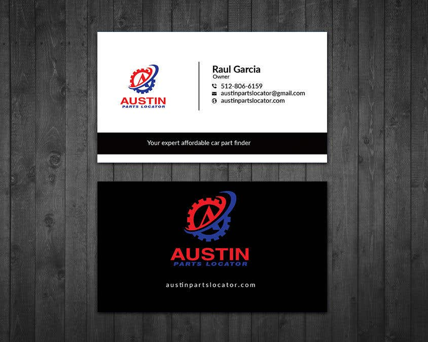 Konkurrenceindlæg #404 for Design Business Cards For Car Parts Company