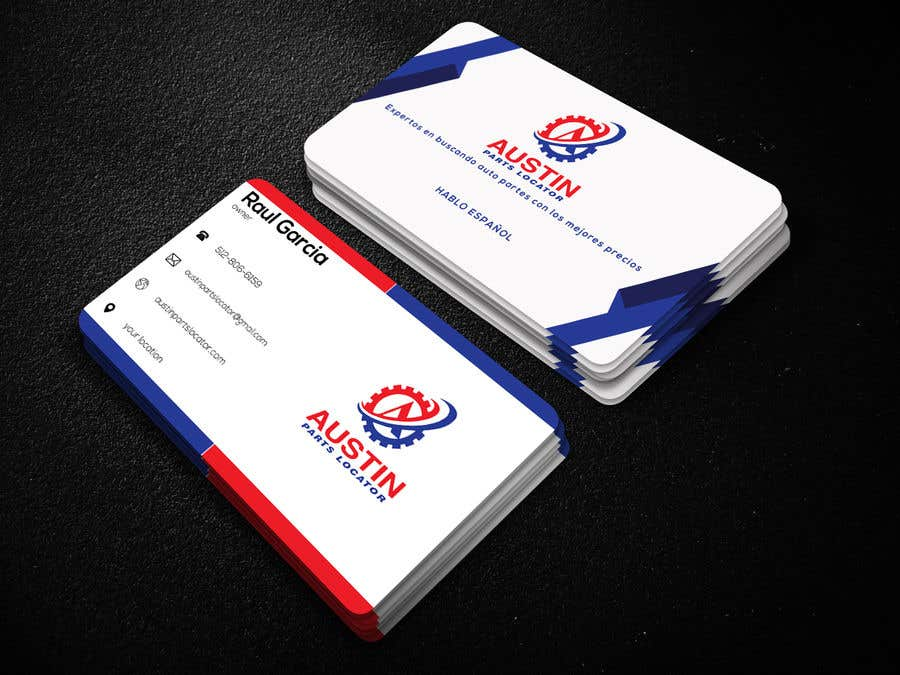Proposition n°411 du concours Design Business Cards For Car Parts Company