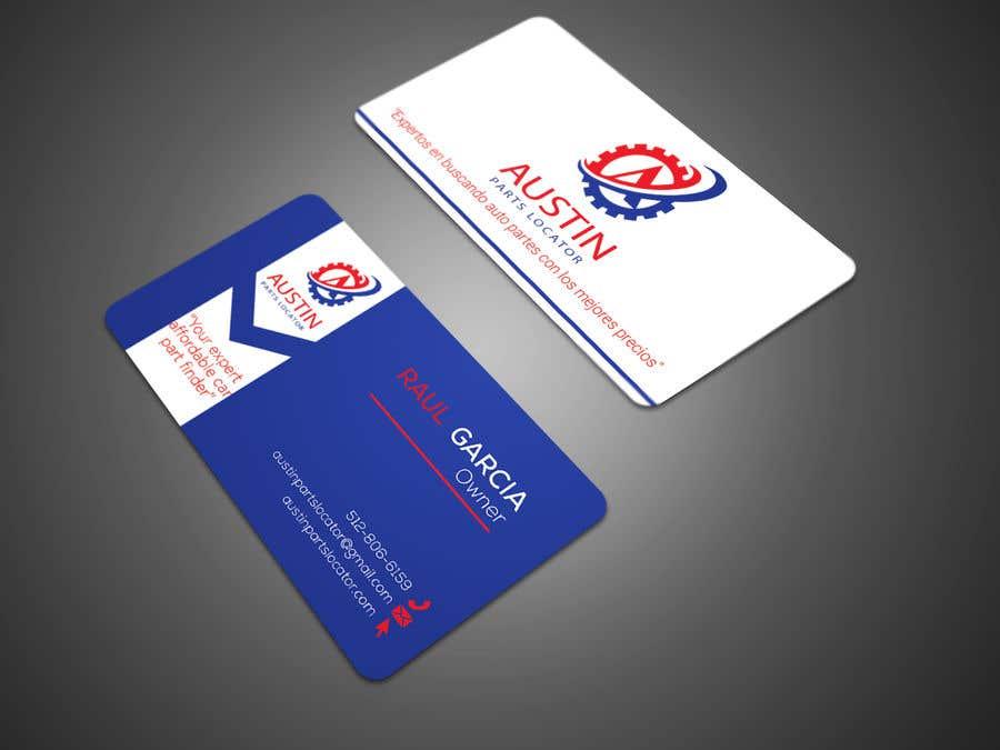 Proposition n°205 du concours Design Business Cards For Car Parts Company