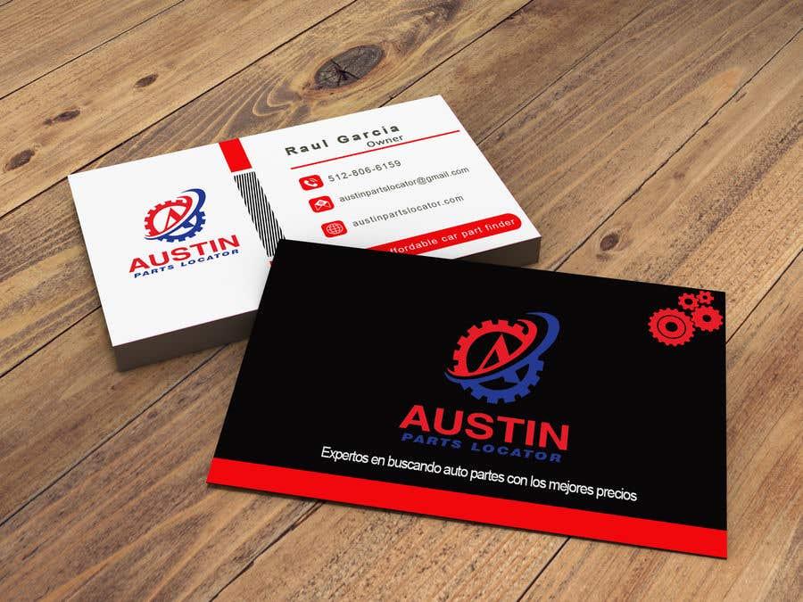 Konkurrenceindlæg #160 for Design Business Cards For Car Parts Company