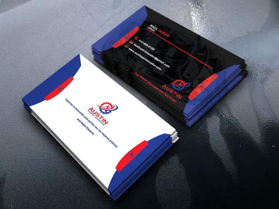Konkurrenceindlæg #367 for Design Business Cards For Car Parts Company