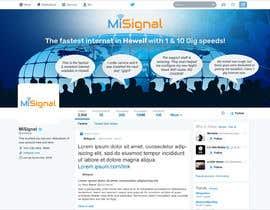 Nro 24 kilpailuun Twitter Background IMage käyttäjältä Qweser