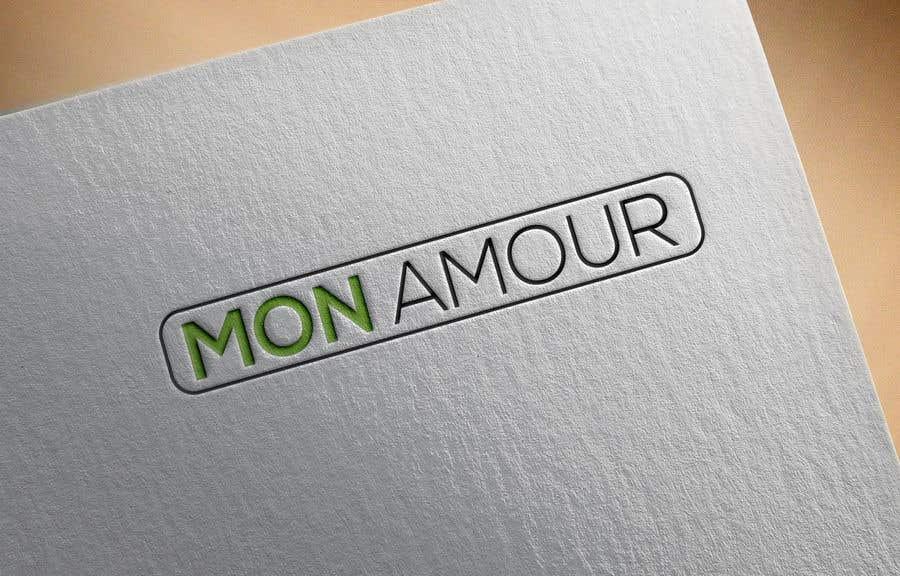 Contest Entry #50 for Logo design- MON AMOUR