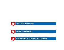 Nro 13 kilpailuun BANNERS FOR NEWS SITE käyttäjältä extragraphicsng