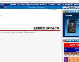 Nro 1 kilpailuun BANNERS FOR NEWS SITE käyttäjältä AgustinP0