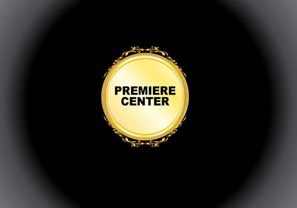 Konkurrenceindlæg #3 for I would like a high definition logo designed for a new event center.  Name: The Premiere Center  black bold font with gold emblem around it.