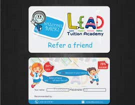 tayyabaislam15 tarafından Design a Referral Voucher same size as business card için no 23