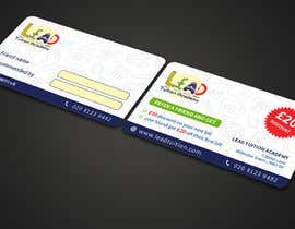 #25 for Design a Referral Voucher same size as business card by JPDesign24