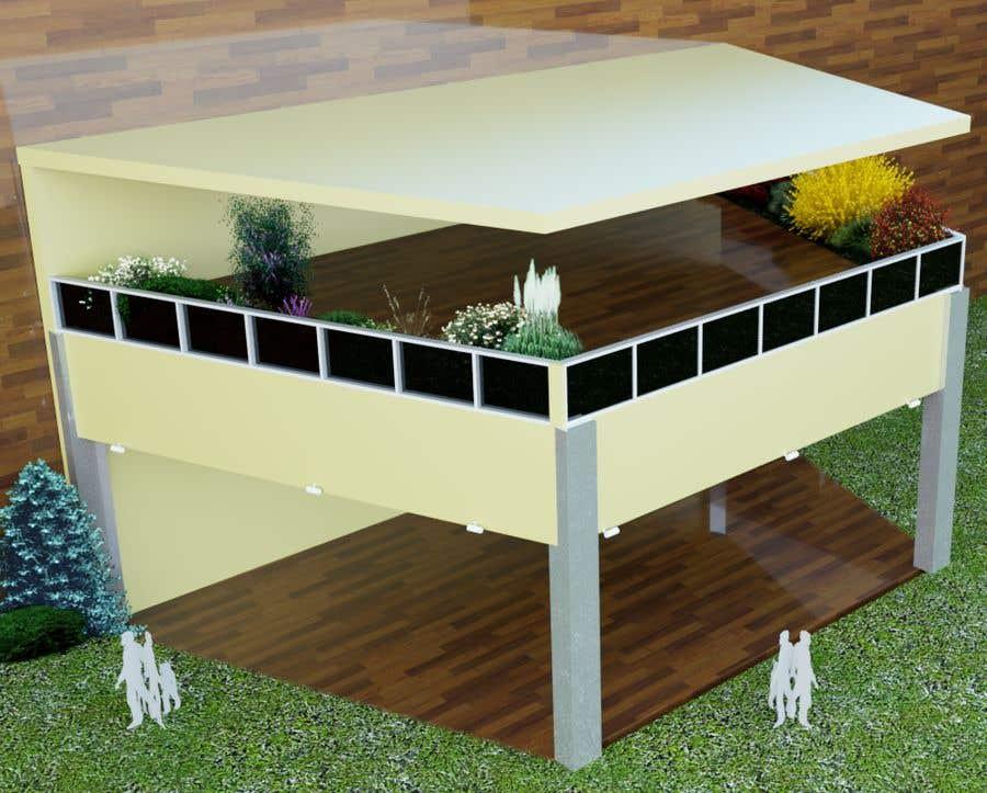 Kilpailutyö #20 kilpailussa 3D Set's Shelter/Roof design