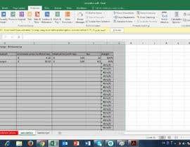 gretagregorian tarafından Calculation Excel formulas and datasheet connection için no 17