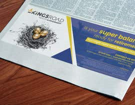 #34 untuk Create a newspaper Ad oleh stylishwork