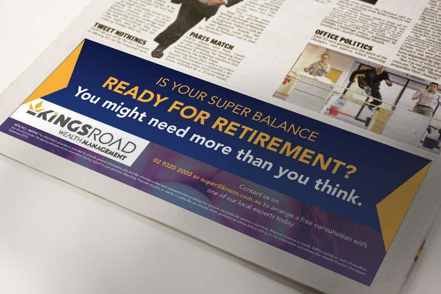 Kilpailutyö #26 kilpailussa Create a newspaper Ad