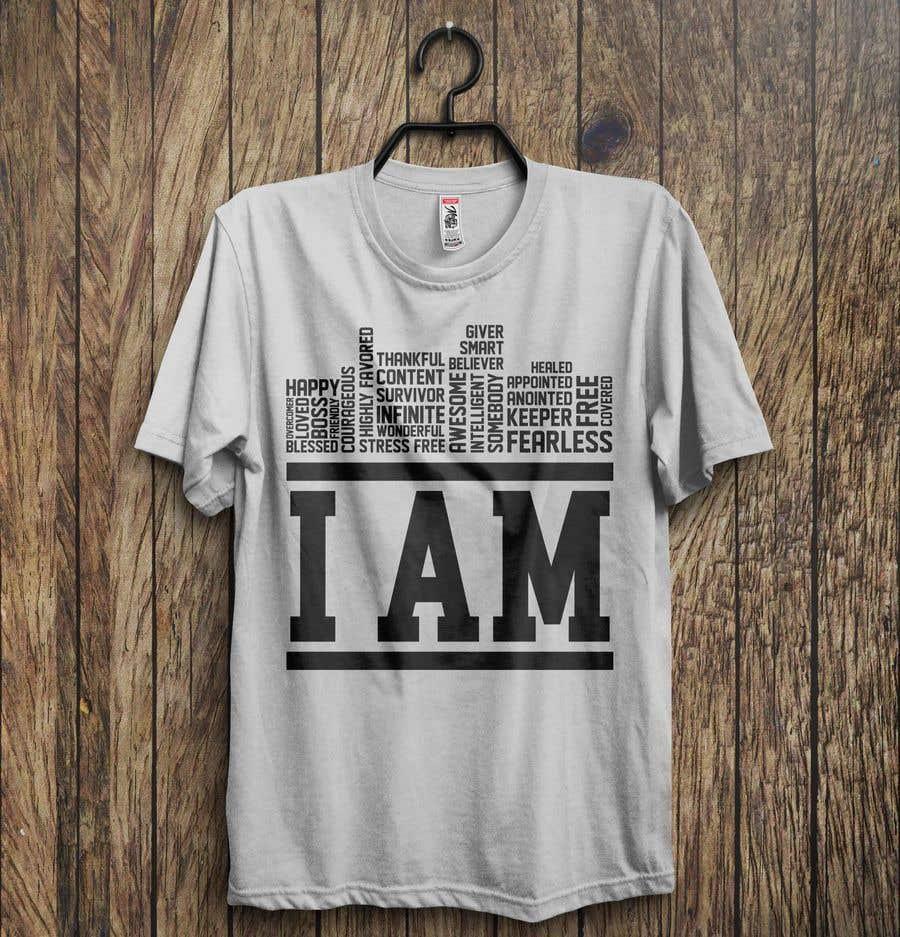 Kilpailutyö #47 kilpailussa I need a T-shirt design